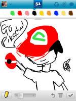 Draw something 2 - Ash by Colorful-Kaiya