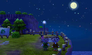 Me and Ian with pretty moon ^-^ by Colorful-Kaiya