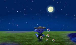 Bubbles and moon! by Colorful-Kaiya