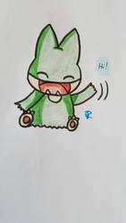 Chibi Munchlax by Colorful-Kaiya