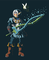 Fierce Deity Link by Onizzuka