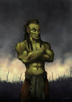 The Orc by Stoupa