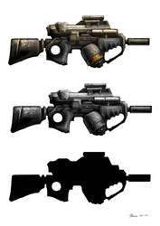 Some gun by Stoupa