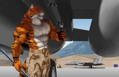 [Commission] Airman Tallyhawk by RJBartrop