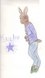 Kayden - Anthro by Drawer-of-Animals