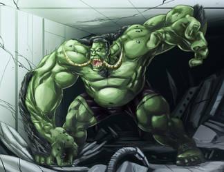 Hulk 2099 my version by AndronicusVII