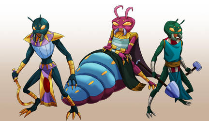 Ranma of Mars- Scarabs by AndronicusVII