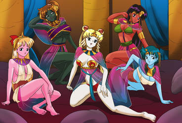 Sailor Scouts of Mars by AndronicusVII