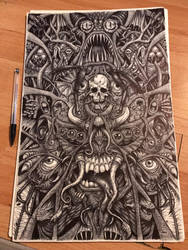 Biro Horror by AnatomicalBomb