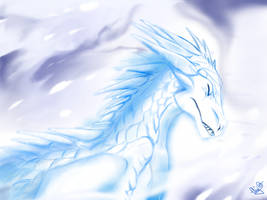 The Blizzard In His Head by Leudonyx