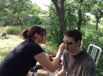 Zombie Make Up by BusybeeSarahD