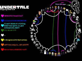 Undertale ship meme by BBrownie1010