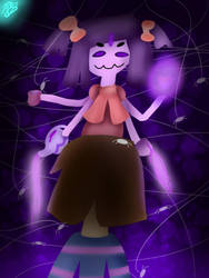 Muffet Undertale  by BBrownie1010