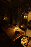 An Ordinary Carpenter's Night by Siamon89