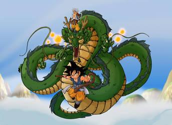 Son Goku Monkey King SSLF by alexss
