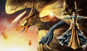 Archangel Swain by Za-Leep-Per