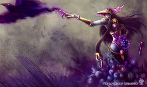 Plague Queen Lissandra by Za-Leep-Per