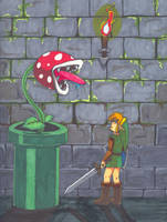 Piranha Plant by Bluevampress