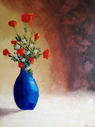 20180529 Le Vase Bleu 30x40 by brunolito