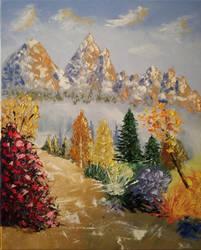 Paysage de Montagne  by brunolito
