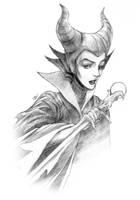 Maleficent by eldridgeque