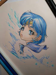 Chibi Sailor Mercury by eldridgeque