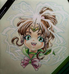 Chibi Sailor Jupiter by eldridgeque