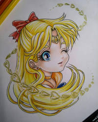 Chibi Sailor Venus by eldridgeque