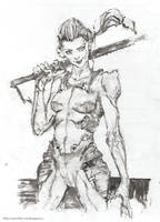 swordlady by Sanchiko