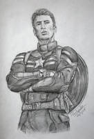 Captain America - Steve Rogers (Chris Evans) by Cordilia61