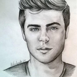 Zac Efron by Cordilia61