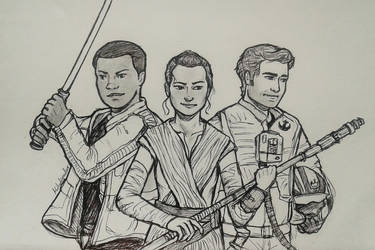 Star Wars Trio by Cordilia61