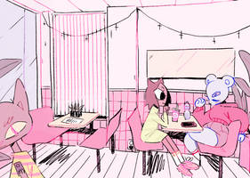 The Cafeteria by Ionro
