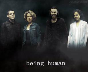 Being Human by JokerOfChaos