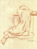 Figure Drawing 02 by Kathy-B