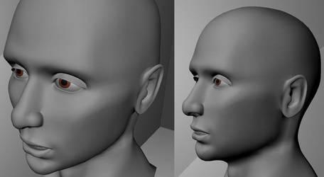 Head Model 04 by Kathy-B
