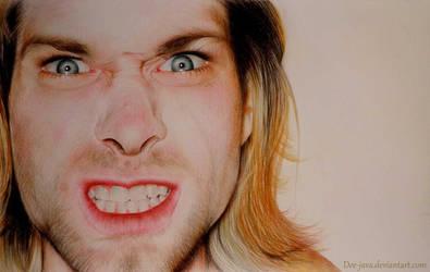 Kurt Cobain by Dee-java