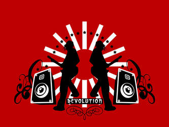 Revolution Wallpaper by El-Jackal