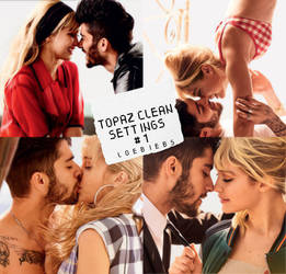 Topaz Clean Settings #1 by LoeBiebs