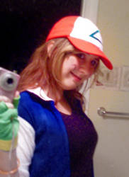 Ash Ketchum cosplay by moogal111