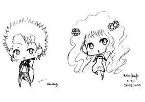 .Ren and Reira. by Izu-kun