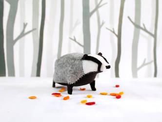 Badger badger badger badger.. by PastYourPorchlight