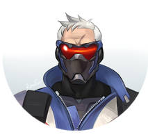 Soldier: 76 by RenuFur