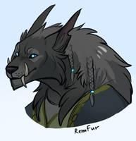 Commission #3 by RenuFur