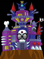 Insano Castle by Garth2The2ndPower