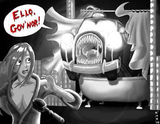 Old British Horror Movie by Garth2The2ndPower