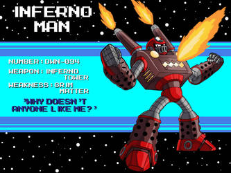 DWN-094: Inferno Man by Garth2The2ndPower