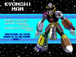 DWN-097- Kyonshi Man by Garth2The2ndPower
