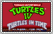 Ninja Turtles 4 TURTLES IN TIME Stamp by conkeronine