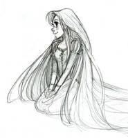 Rapunzel by courtneygodbey